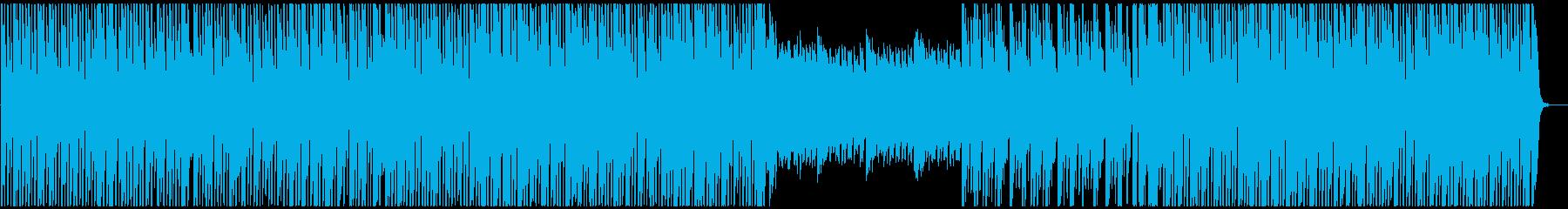 都会的な電脳世界マップBGM【ループ可】の再生済みの波形