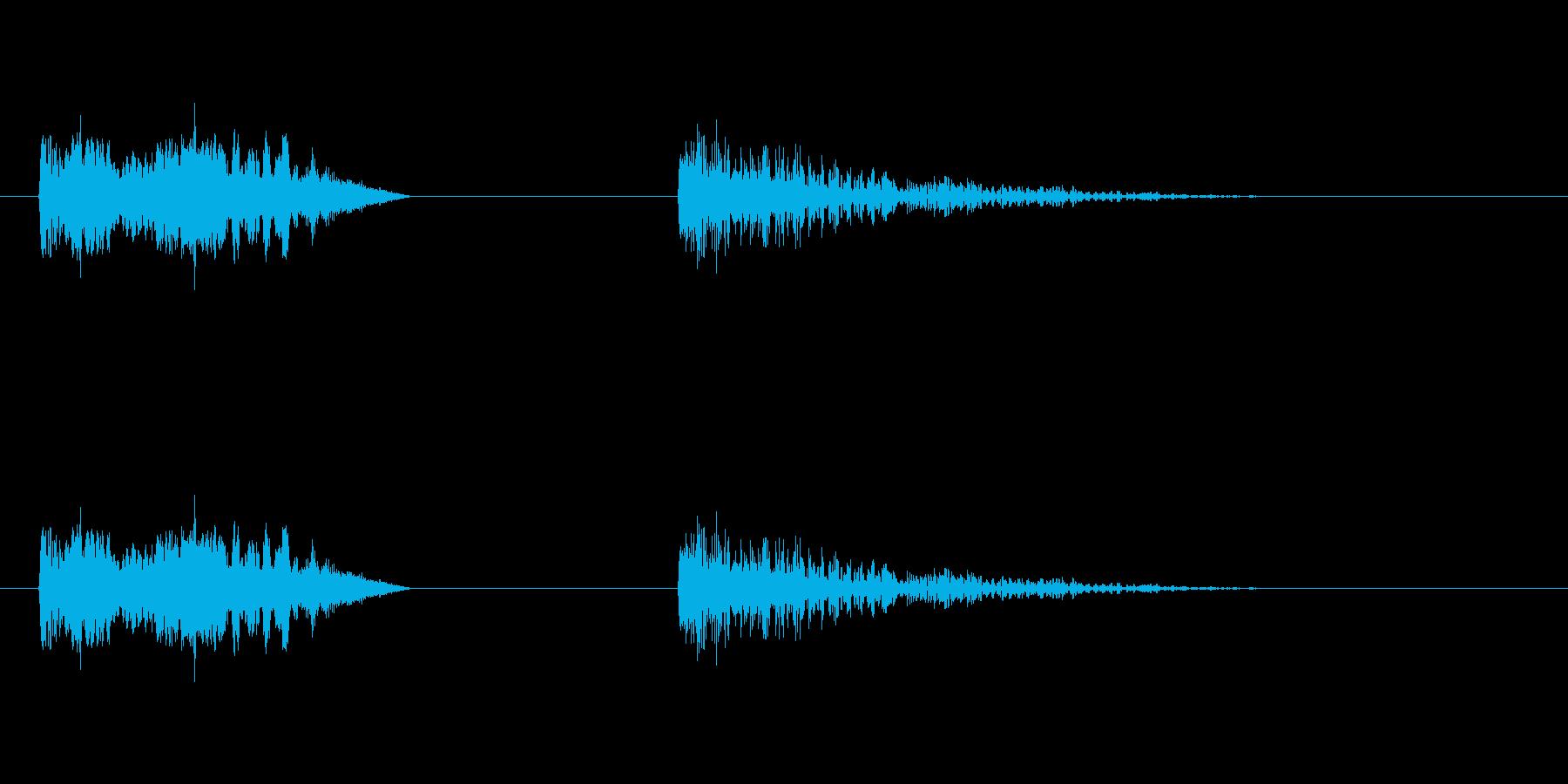 爆発21の再生済みの波形