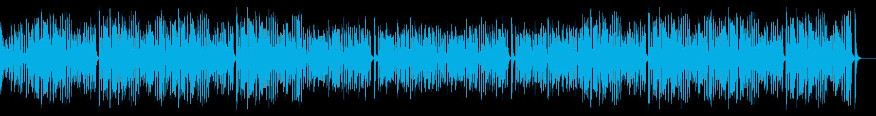 レトロピアノでお洒落なオールドジャズ名曲の再生済みの波形