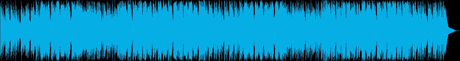 神社をイメージした和風BGMの再生済みの波形