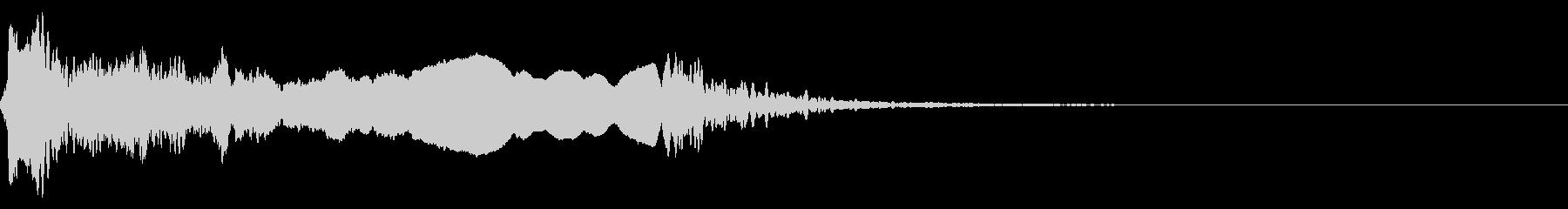 和風な歌舞伎の笛(能管)効果音です♪03の未再生の波形