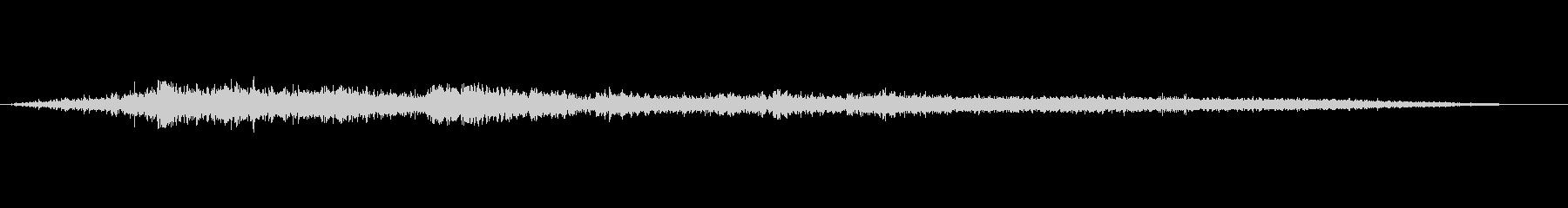 イメージ スクリーミングウォーター01の未再生の波形