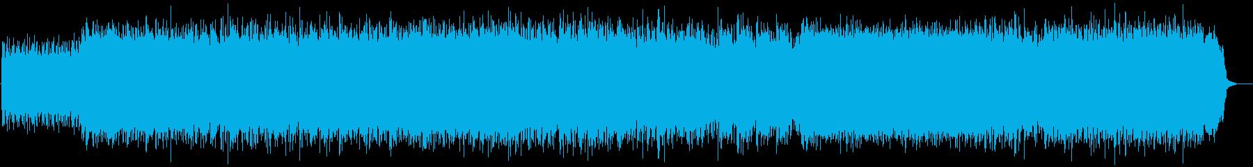 シューゲイザー轟音ギター洋楽 マイブラの再生済みの波形