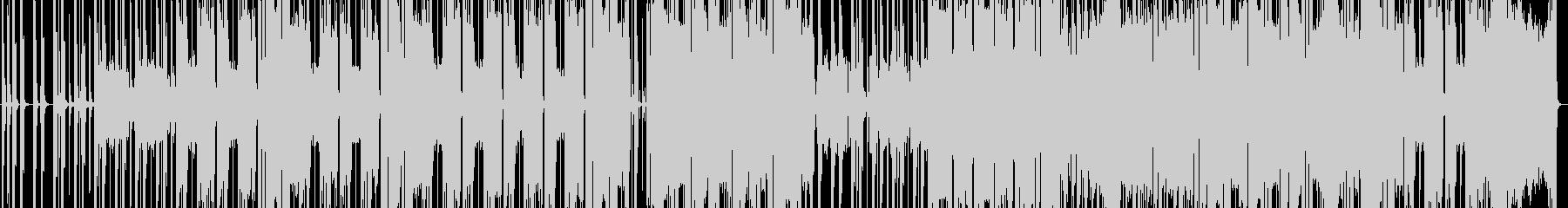ギターの未再生の波形