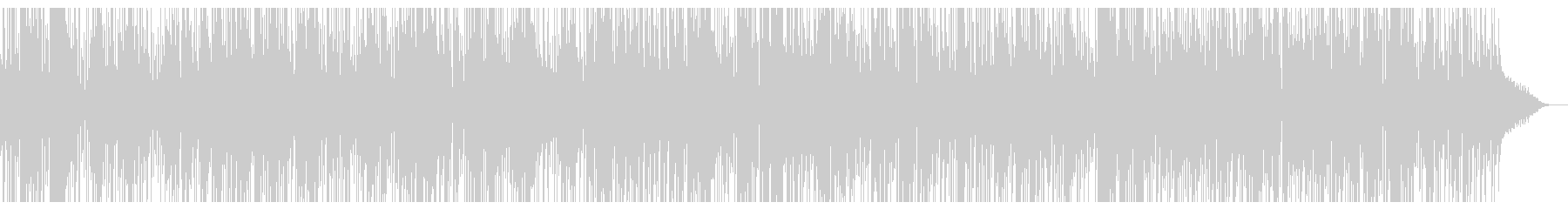 かっこいサックスとクールなジャズファンクの未再生の波形