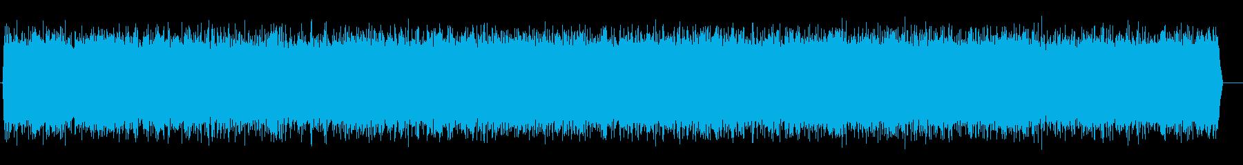 ビューン↑(ジェットエンジンの効果音)の再生済みの波形