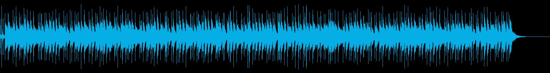 アコギとベルのふんわり穏やかなBGMの再生済みの波形