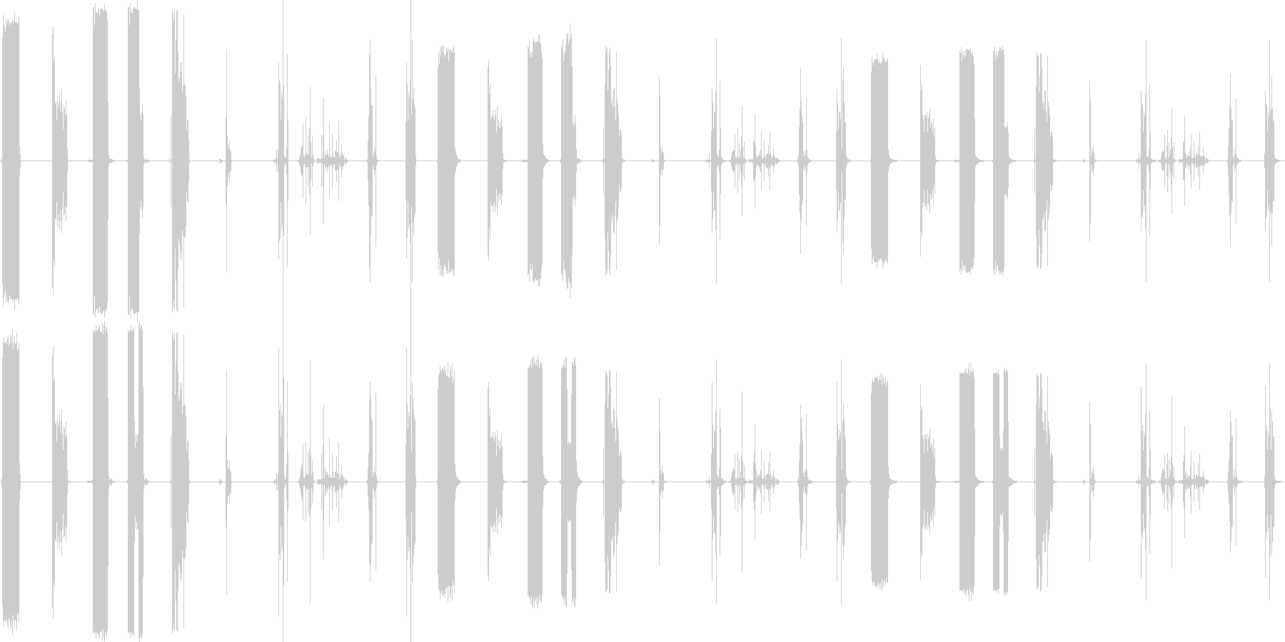 RIPS、ペーパー、9バージョンX...の未再生の波形