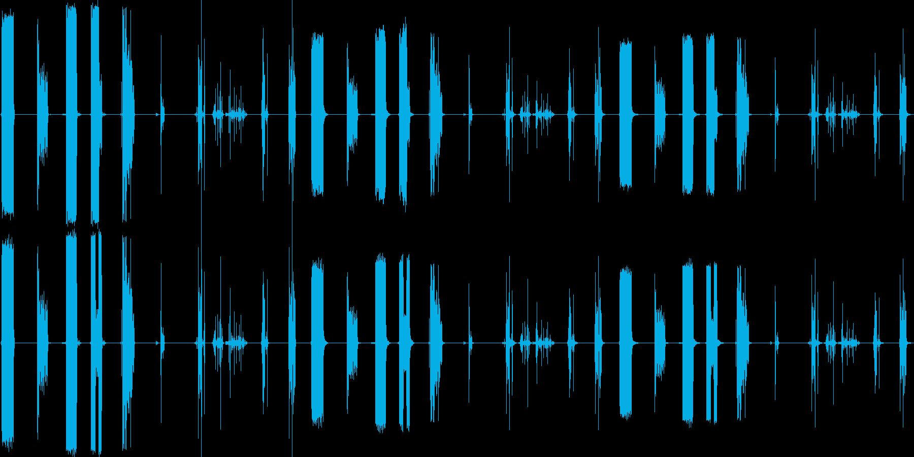 RIPS、ペーパー、9バージョンX...の再生済みの波形