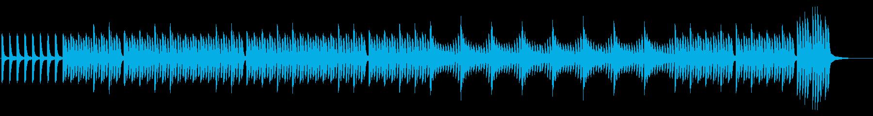 【ピアノのみ】力強くアカデミックな雰囲気の再生済みの波形