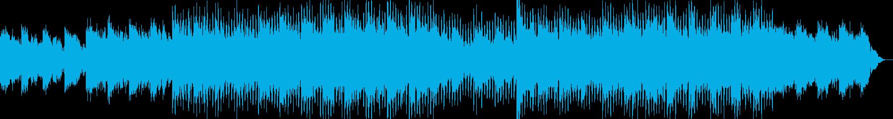 現代的で都会的なクラブ系EDM-10の再生済みの波形