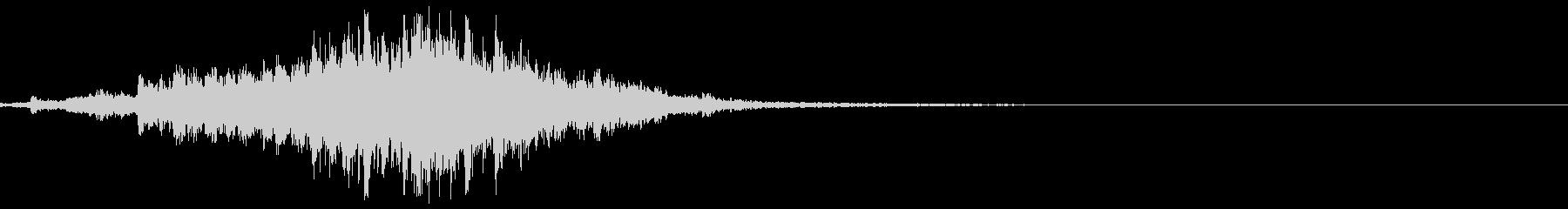 シャララララ・神楽鈴の効果音エフェクト有の未再生の波形