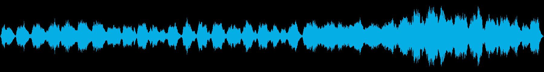 ヨーロッパの民族音楽風のBGMです。の再生済みの波形