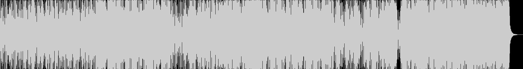 kawaiiダンスミュージックの未再生の波形