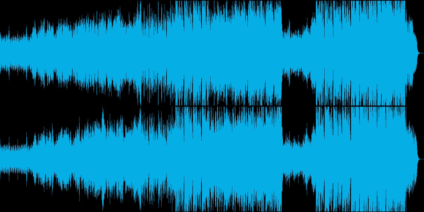 静かなピアノ~壮大なオケ②打楽器なし版の再生済みの波形