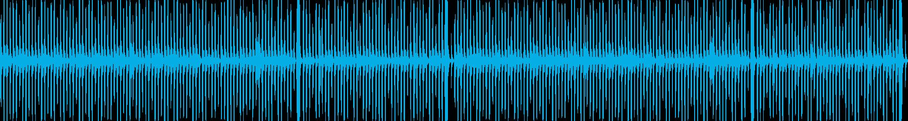ファンシー・メルヘンなトイピアノ_ループの再生済みの波形