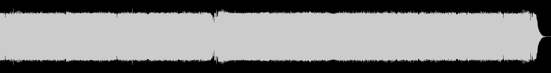 ペース、テクノダンスフロア、家。の未再生の波形