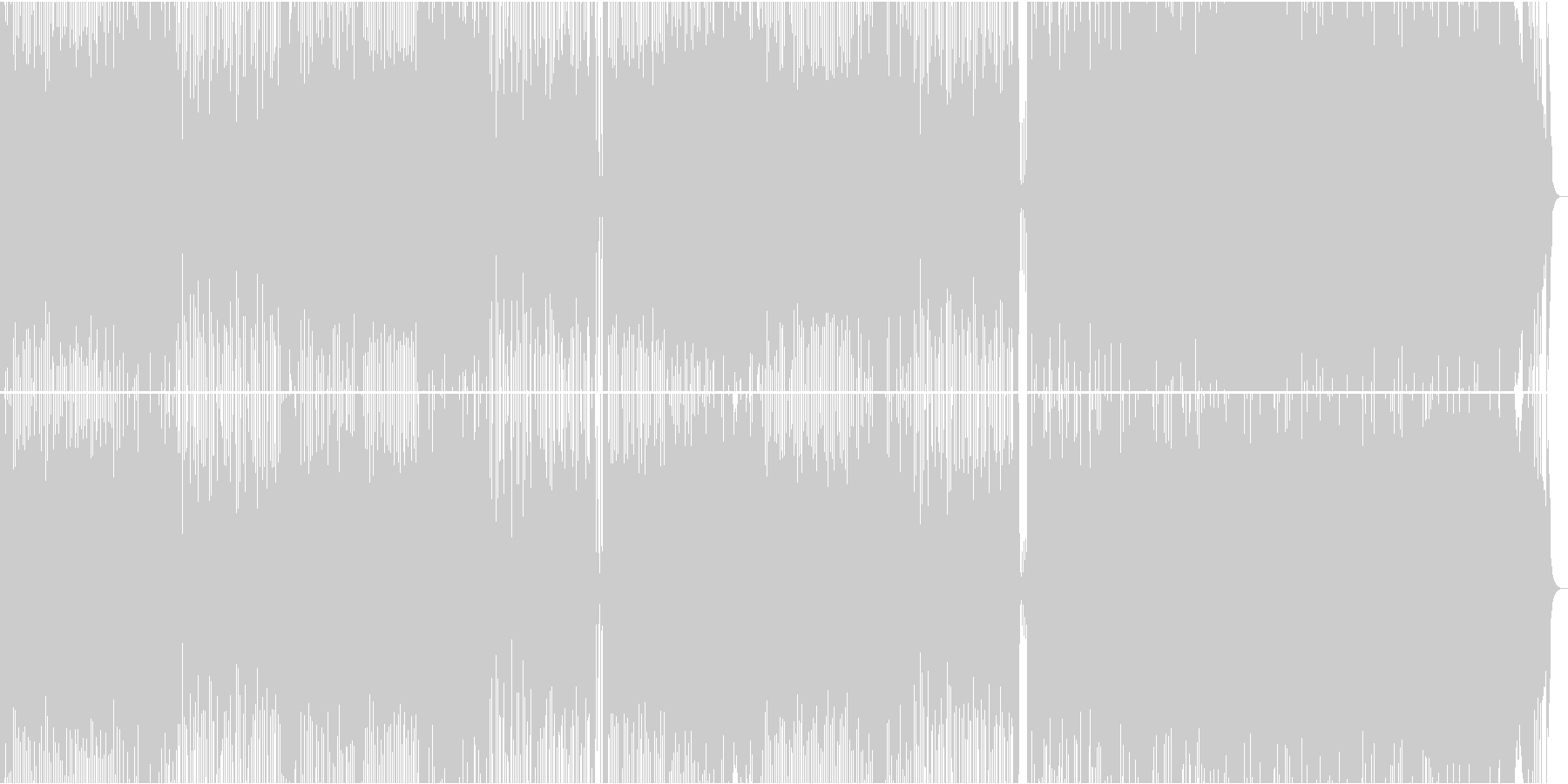 積極的でエネルギッシュなロックミュ...の未再生の波形
