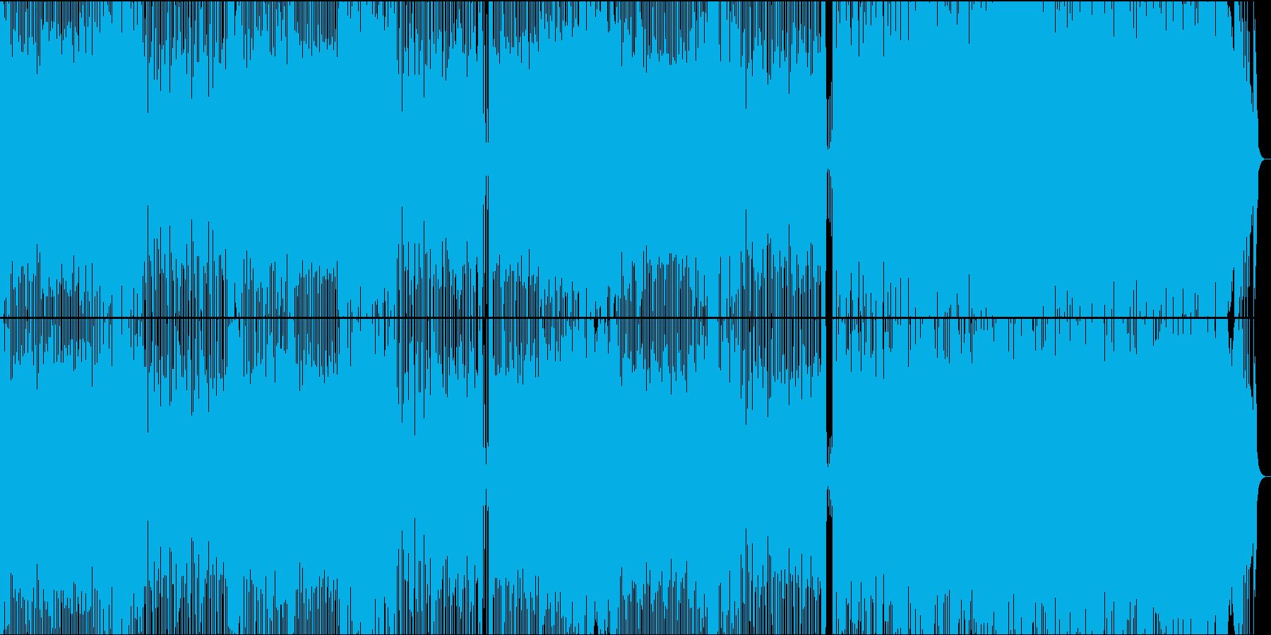 積極的でエネルギッシュなロックミュ...の再生済みの波形