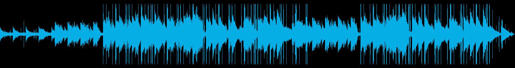 lofi hiphop/カフェ/vlogの再生済みの波形