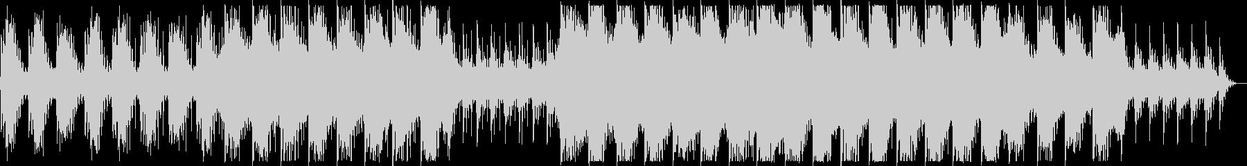 幻想的でダークなBGMの未再生の波形