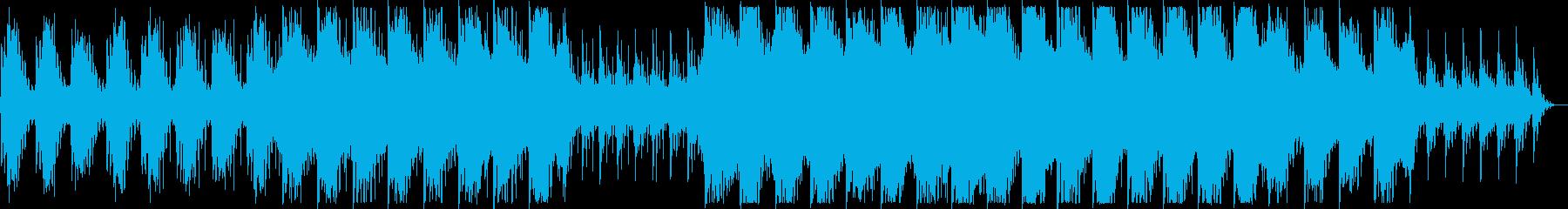 幻想的でダークなBGMの再生済みの波形