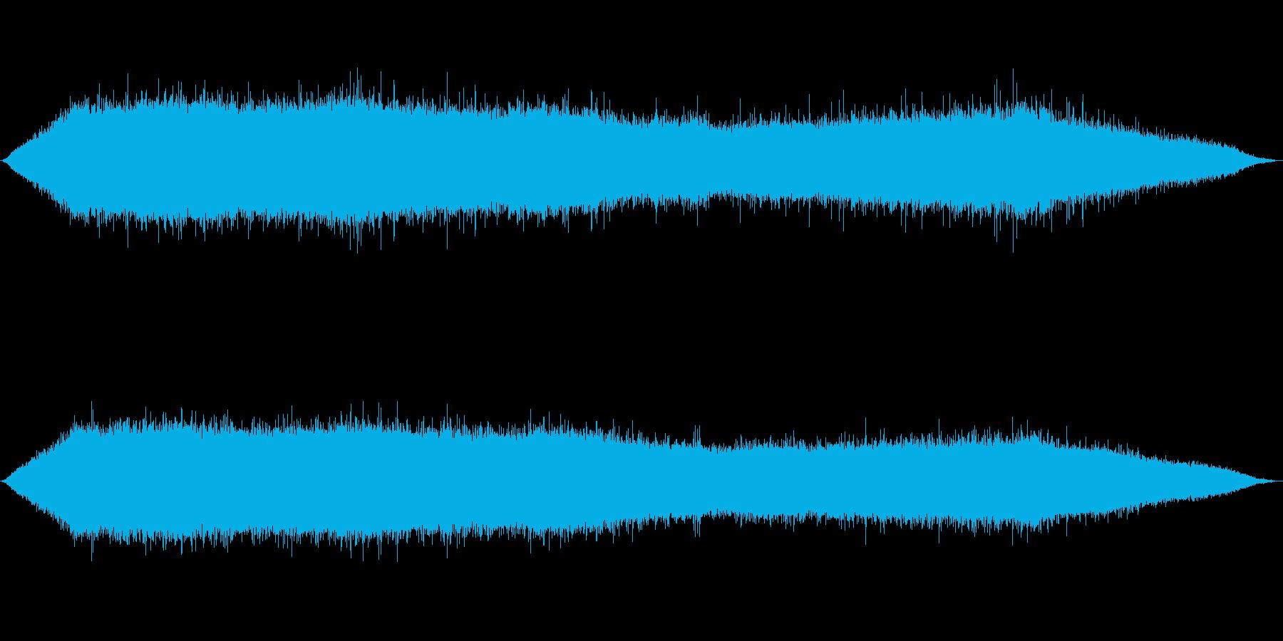 雨 雨音(夕立ち、豪雨、にわかあめ等)3の再生済みの波形
