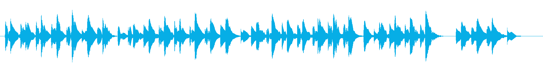 ◆卒業BGM。木琴で仰げば尊しカバー!の再生済みの波形