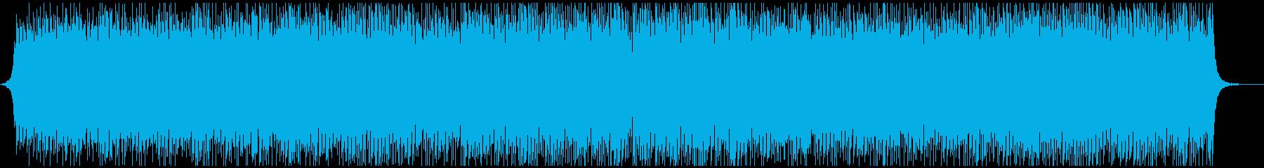 爽やかオープニング映像に美しくアゲアゲでの再生済みの波形