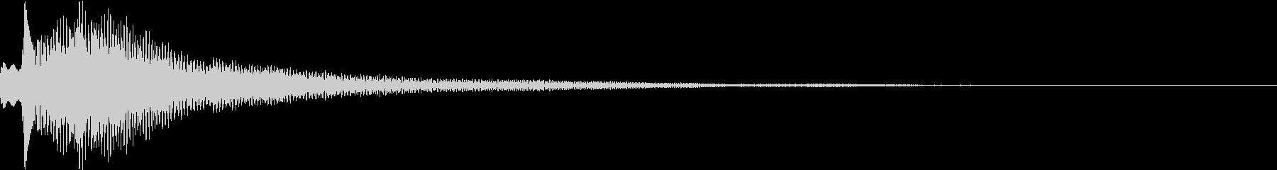 テュルルン:シリアスなハープ・弾くの未再生の波形
