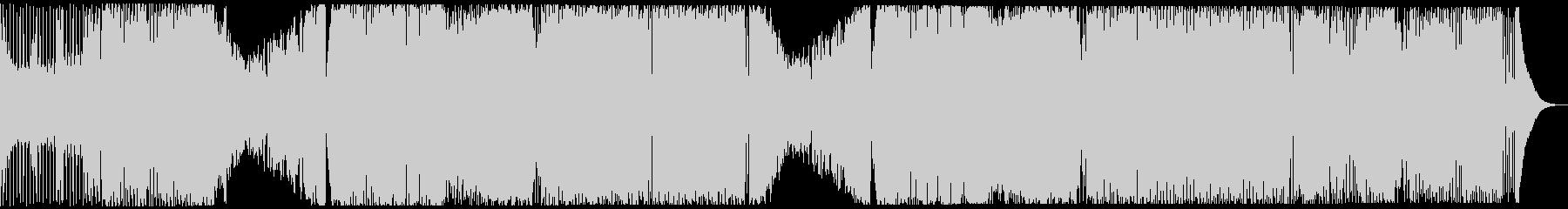 ワイルドなBIGROOM系EDMの未再生の波形