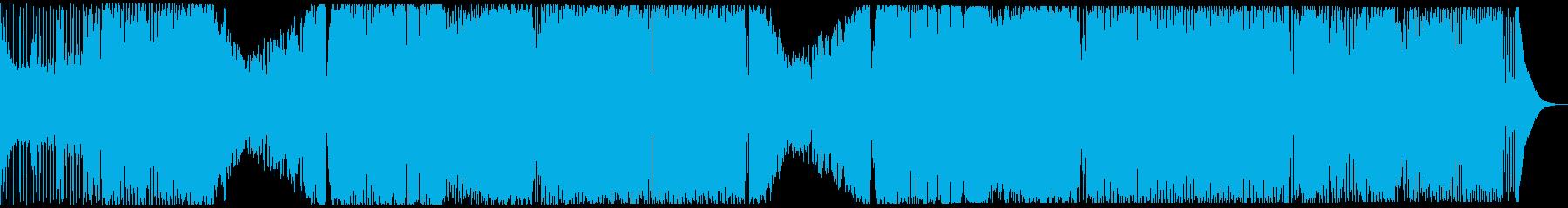 ワイルドなBIGROOM系EDMの再生済みの波形