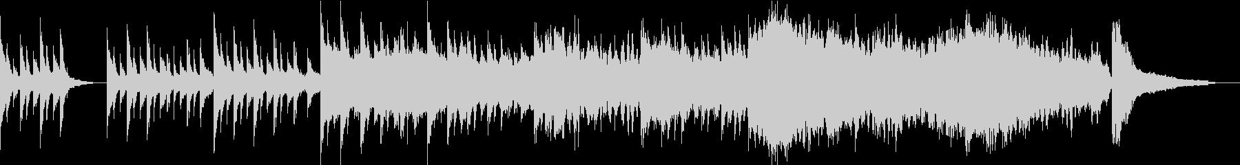 感動・透明感の映像 CMなどに/ピアノの未再生の波形