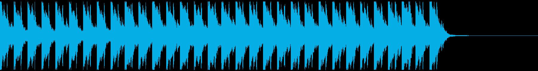 オシャレ・戦闘・スリリングEDM、⑧の再生済みの波形
