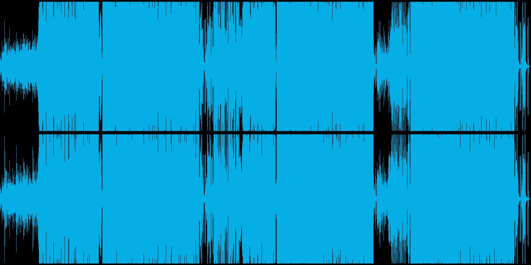 何から何まで和風ディスコの再生済みの波形