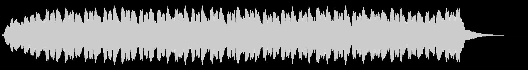 クリスタルゴブレットリムリンギングの未再生の波形