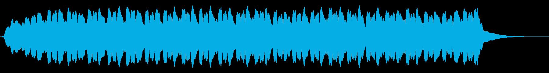 クリスタルゴブレットリムリンギングの再生済みの波形
