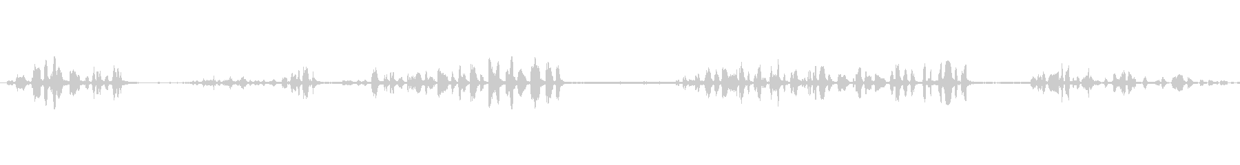 ガーデンウォーブラー:歌う、動物の鳥の未再生の波形