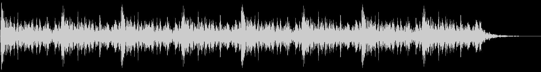 太鼓 躍動的 迫力 効果音 パターン4の未再生の波形
