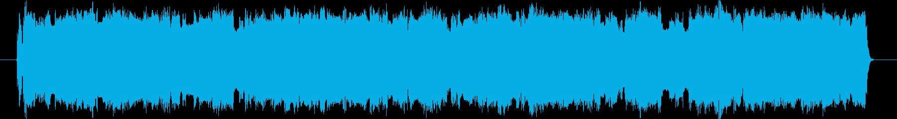 ギターフレーズ004の再生済みの波形