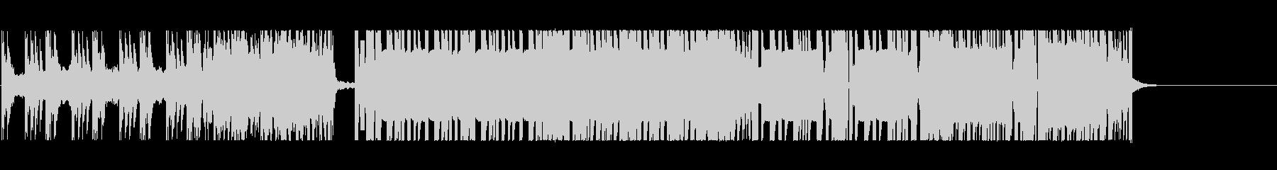 硬くて重たいドラムンベースの未再生の波形