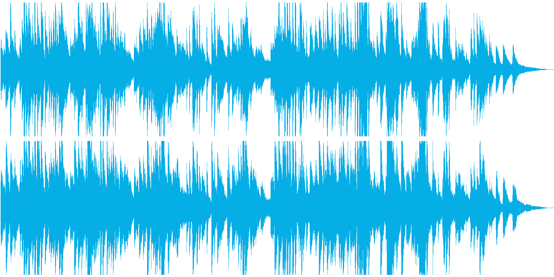 叙情的・繊細 しっとり切ないピアノ 2分の再生済みの波形