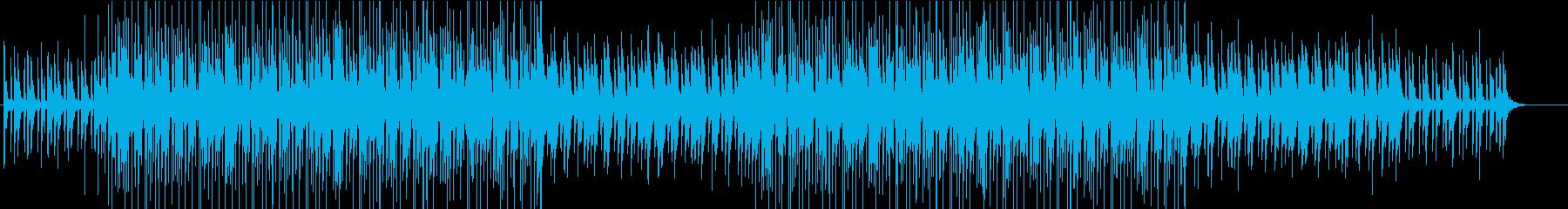 ギターとベースがユニゾンするポップロックの再生済みの波形