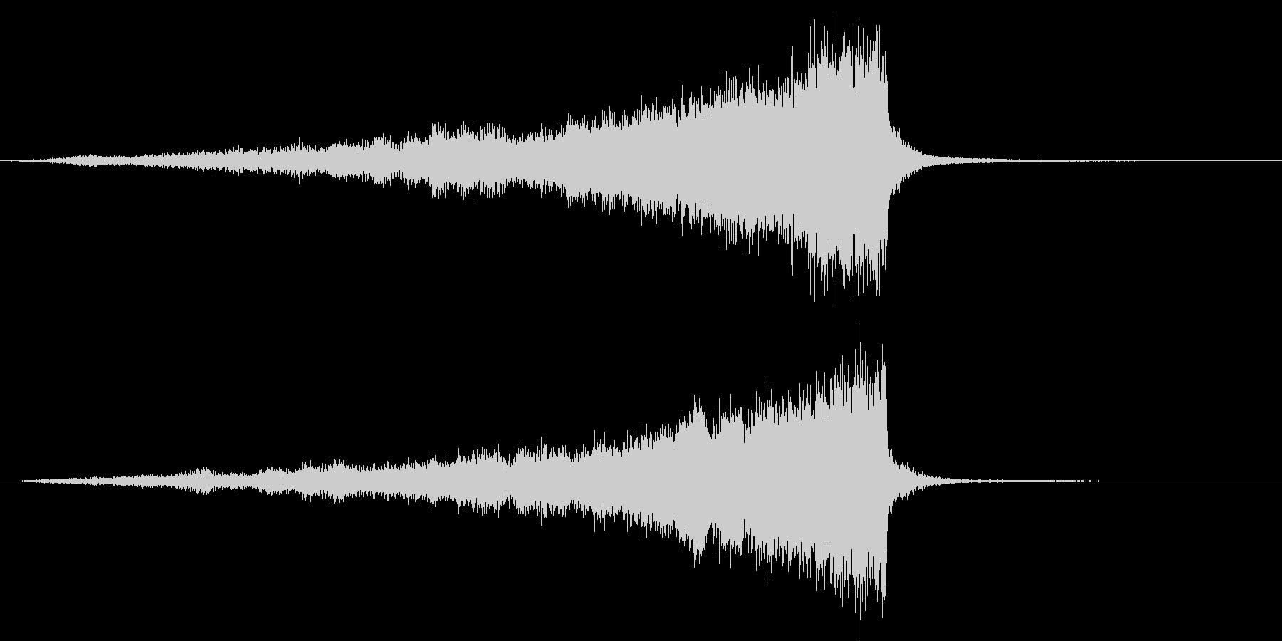 CINEMATIC RISER ATMOの未再生の波形