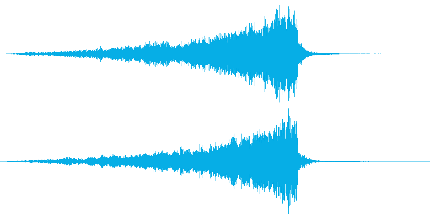 CINEMATIC RISER ATMOの再生済みの波形