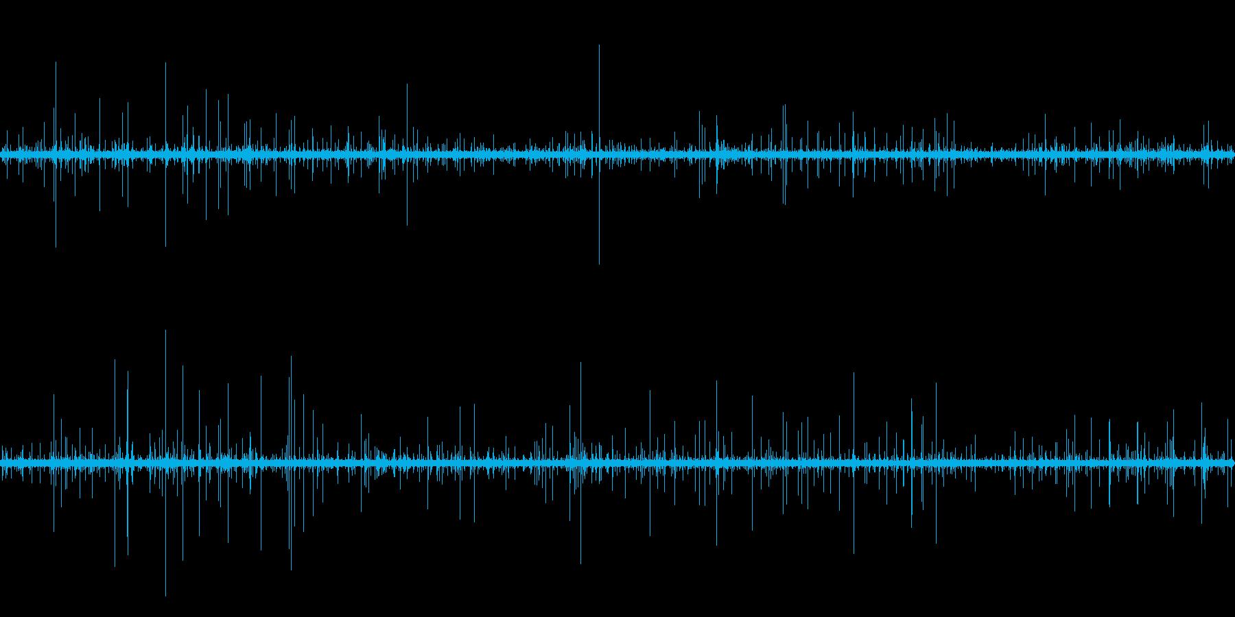 雨の音.01の再生済みの波形