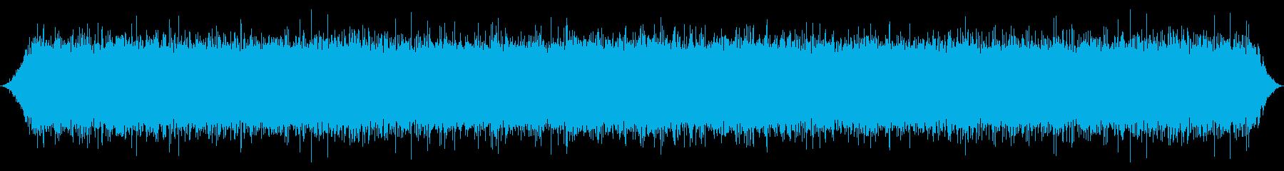 水C:川への深い泡立ちの流れの再生済みの波形
