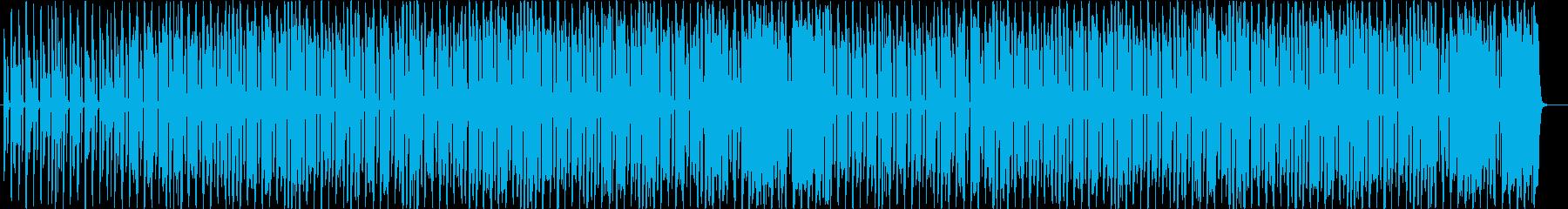 軽快でスキップしたくなるようなBGMの再生済みの波形