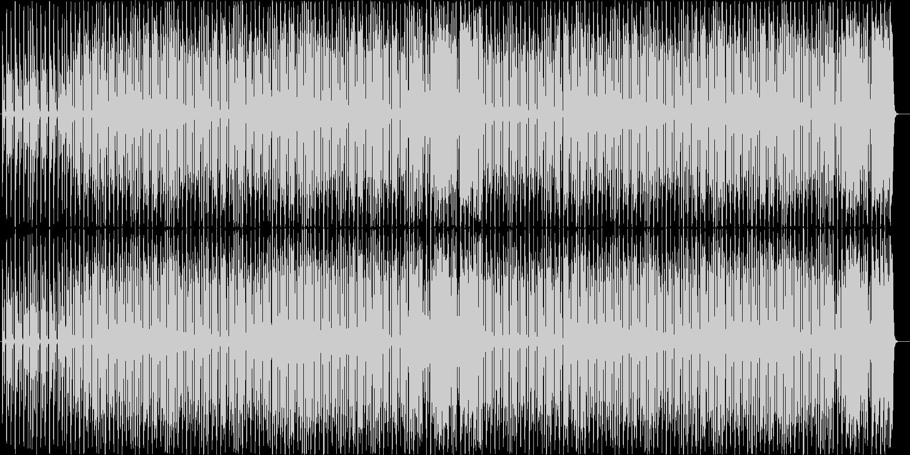 軽快でスキップしたくなるようなBGMの未再生の波形