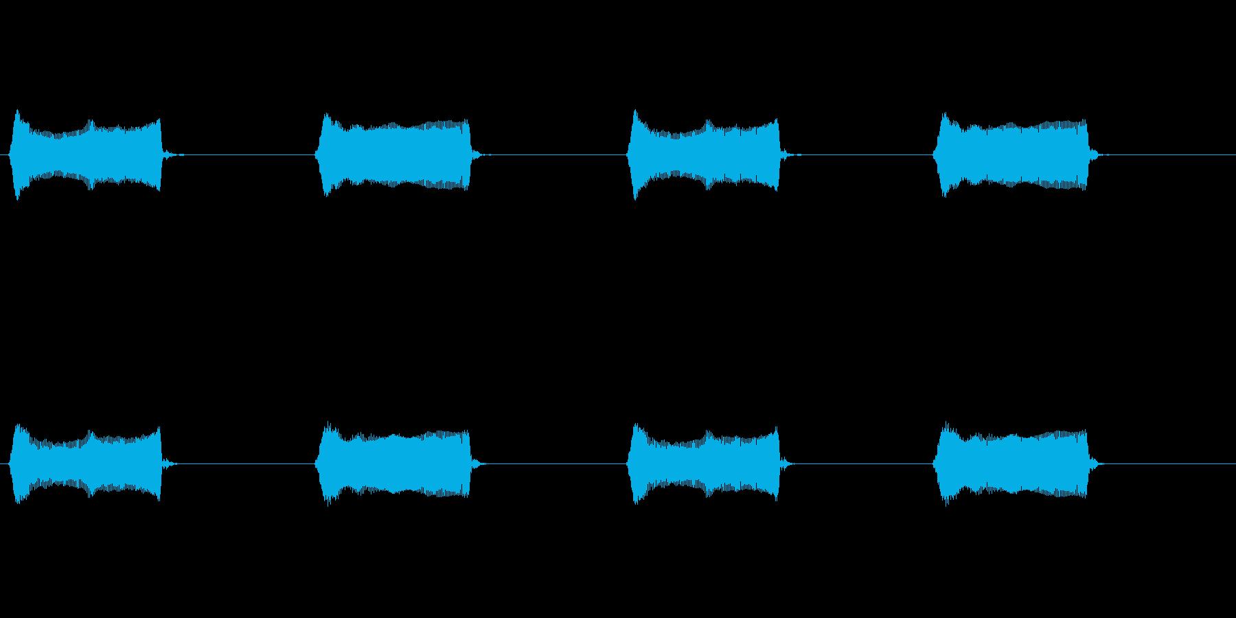 【携帯電話 バイブ01-3L】の再生済みの波形